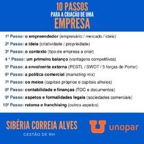 10 PASSOS PARA A CRIAÇÃO DE UMA EMPRESA