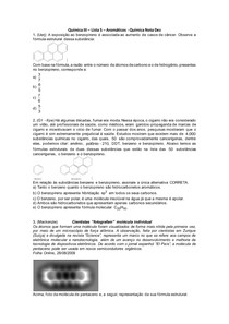 Química III - Lista 05