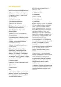 Pré-Modernismo - Língua Portuguesa