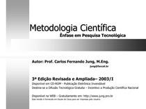 CEL0017-WL-LC-Apostila Curso Metodologia - Carlos Jung