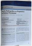 Diagnostico Radiografico em Periodontia