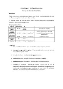 Clínica Cirúrgica 5  - Sd. Álgica 3 (Dor Lombar)
