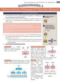Farmacodinâmica: Mecanismo de Ação dos Fármacos - Farmacologia 4