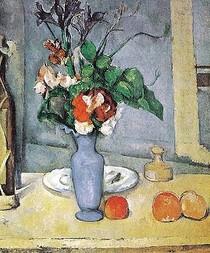 Paul Paul Cézanne - The Blue Vase