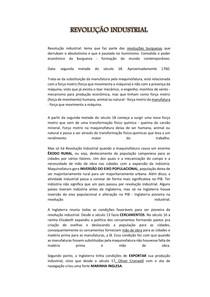 REVOLUÇÃO INDUSTRIAL pdf