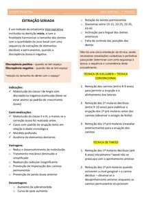 odontopediatria - EXTRAÇÃO SERIADA