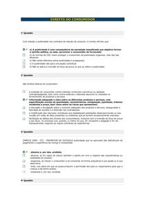 Direito do Consumidor - Aula 05 II