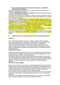 SP2 - AUDIÇÃO E EQUILÍBRIO