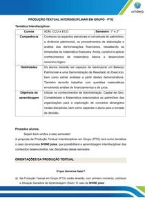 PRODUÇÃO TEXTUAL SHINE JOIAS 2º semestre