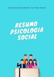 Resumo Psicologia Social