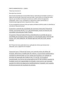 DIREITO ADMINISTRATIVO II - CC 15