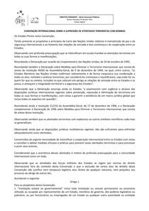 2-Convenção Internacional sobre a Supressão de Atentados Terroristas com Bombas