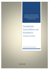 Curso Estatísitica Básica Professor Matusalém versão 11 2015
