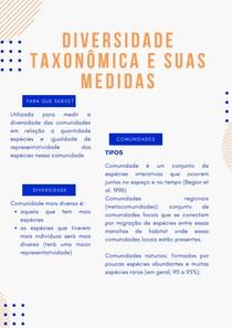 Diversidade taxonômica e suas medidas