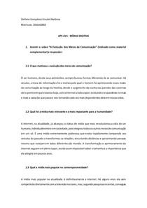 APS AV1 - MIDIAS DIGITAIS