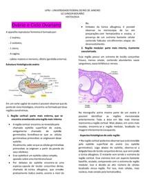 Ovário e Ciclo Ovariano