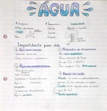 Compostos inorgânicos - Água