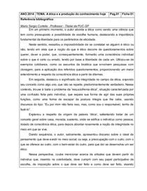 Mario Sergio Cortella - fichamento