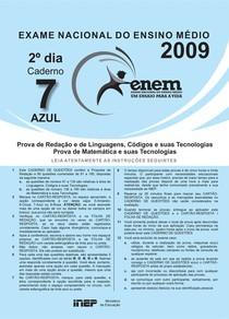 Matemática - Prova Enem 2009