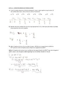 2.1 Conceitos básicos de RMN