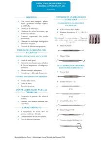 Resumo - Princípios Biológicos da Cirurgia Periodontal