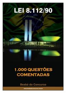 1001 QUESTÕES - Lei 8112