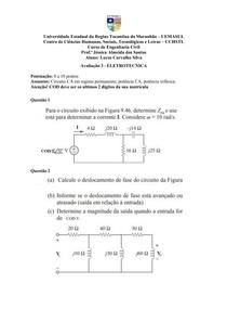 Exercicios Resolvidos Livro Sadiku (Circuitos CA, Potência CA, Potência Trifásica)