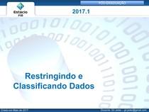 SQL_2017 1_restringindo_e_classificando_dados