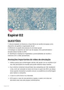 Questões espiral 02