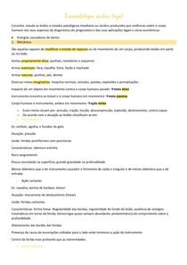 AULA 7 - Traumatologia médico legal