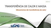 Mecanismos de transferência de calor e massa