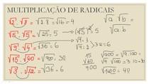 EXEMPLOS DE MULTIPLICAÇÃO DE RADICAIS