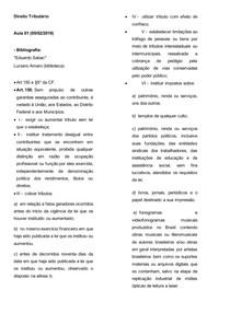 Direito Tributário aula 1