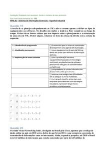 APOL 01 NOTA 100 Espanhol   SIG
