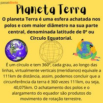 O planeta Terra - RESUMO