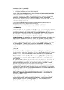 Resumo - Psicologia Ciência e Profissão