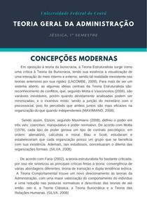 TGA - Concepções Modernas