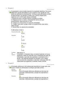 Questionario unidade 3 Voleibol aspectos pedagógicos e aprofundamentos unip ead