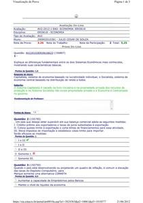 AV2 - 2012 Economia