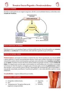 Trombose Venosa Profunda e Tromboembolismo