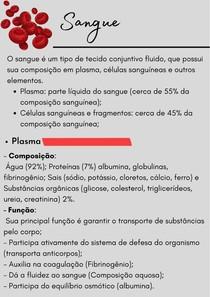 Sangue- CDP 5 Dinâmica Celular