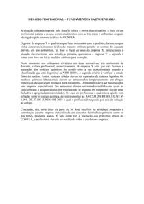 DESAFIO PROFISSIONAL - FUNDAMENTOS DA ENGENHARIA - Universidade Brasil