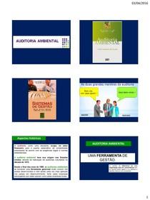 Auditoria ambiental definições segundo a ISO
