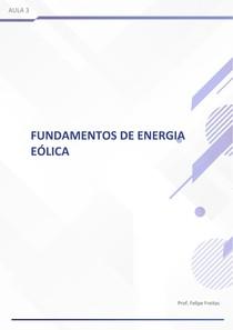 Fundamentos da energia eólica 3
