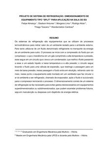 Artigo - Dimensionamento de Ar Condicionado