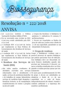 Resolução n2222018 ANVISA