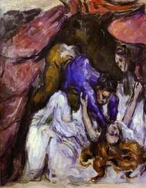 Paul Paul Cézanne - The Strangled Woman