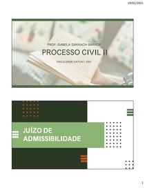 JUIZO DE ADMISSIBILIDADE RECURSAL