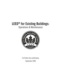 LEED for existing Buildings