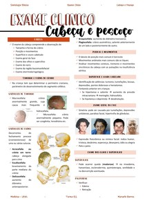 RESUMO- exame cabeça e pescoço